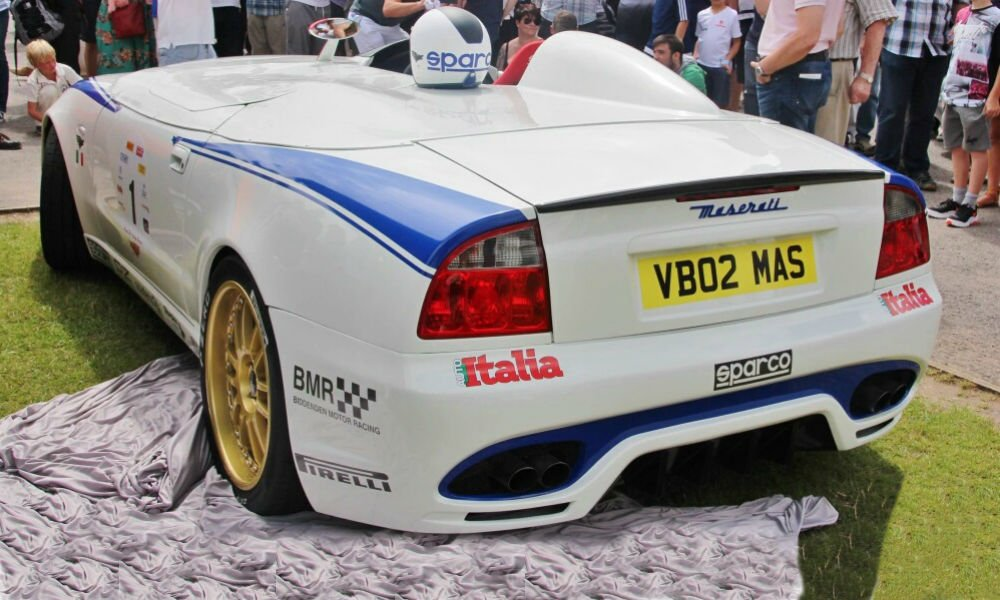 Rear End of Best of Italy Car