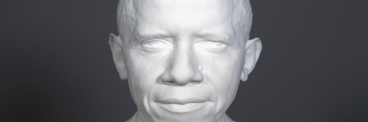 Smithsonian using 3D scanning