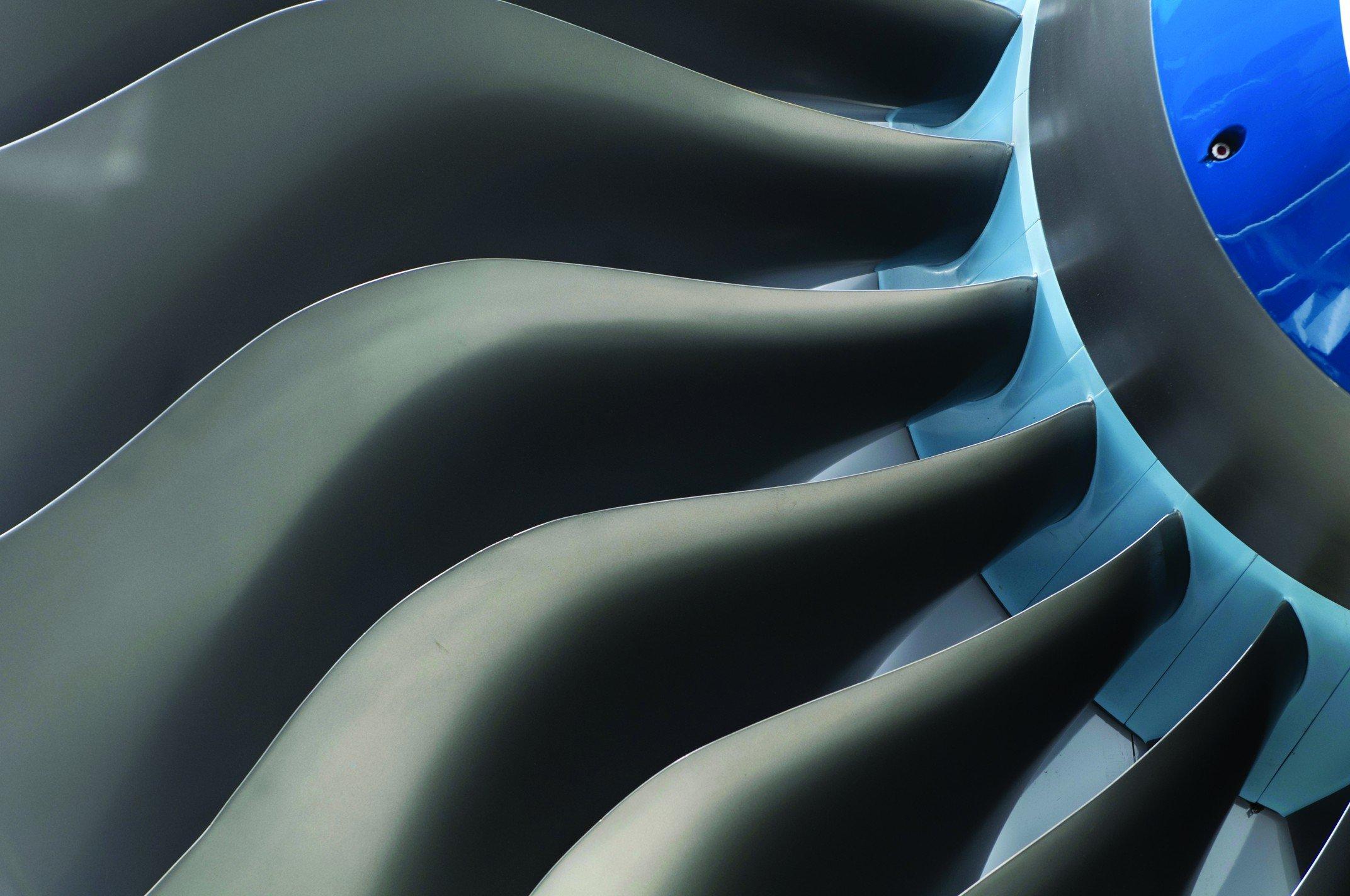 Wind turbine blades.