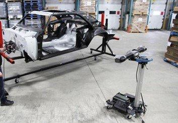 3D scanning a car body