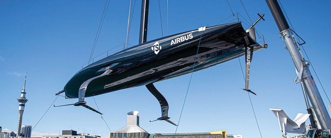 3D Scanning Helps Speed Design Developments For US America's Cup Team
